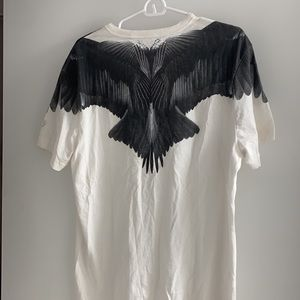 Guess Crow Wings T-shirt White Vintage L